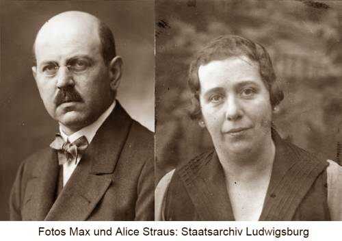 Max Alice Straus